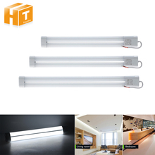 LED Tube 220V Portable H Bar Light 12W 16W 21W Ceiling Light Transformation Fluorescent Lighting(China)
