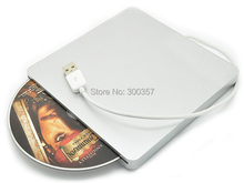 Super Slim USB 2.0 Slot-in Portable Optical  Drive DVD-RW, Plug and Play