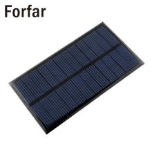 Forfar Mini 6V 1W Solar Power Panel Solar System Module DIY For Light Battery Cell Phone Toys Chargers camping survival kit(China)