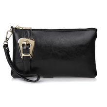 Fashion Buckle  Furly Candy Handbags Women Genuine Cow Leather Shoulder+Messenger+Clutch Purses+ Wristlet Bags,CN-8008