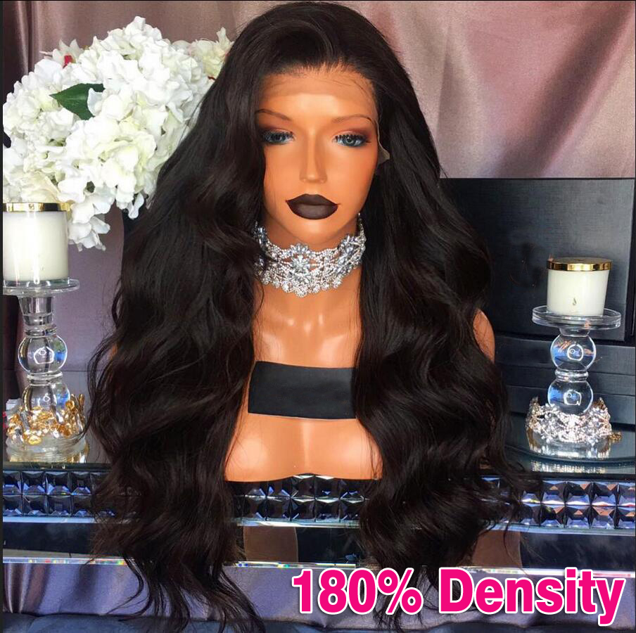 Indian Body Wave Hair Wigs Full Lace Human Hair Wigs For Black Women Lace Front Human Hair Wigs Lace Front Wigs With Baby Hair<br><br>Aliexpress