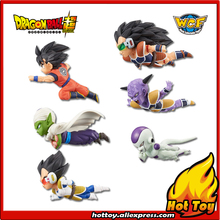 "Original Banpresto World Collectable Figure / WCF The Historical Characters Vol.1 - Full Set of 6 Pieces from ""Dragon Ball Z"""
