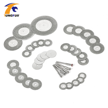 38pcs diamond cutting disc for dremel tools accessories mini saw blade diamond grinding wheel set rotary tool wheel circular saw(China)