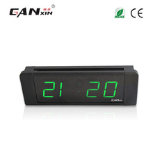 "[Ganxin]1"" New Material for Convenient China Manufacturer Hot Sale Led Clock Date Timing Clock(China)"