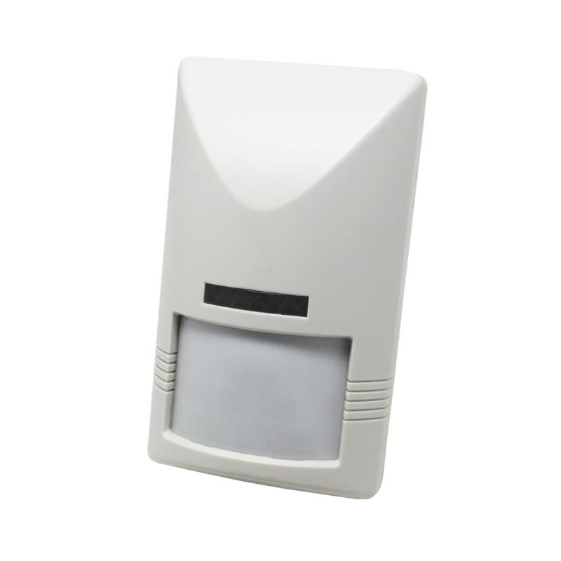 Wall mounted Dual  PIR+Microwave detector<br>