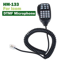 YIDATON HM-133V DTMF Microphone with Keypad Lighting for ICOM Mobile Transceiver for IC/208H/2100H, 2200H, 2720H, 2725E, V8000(China)