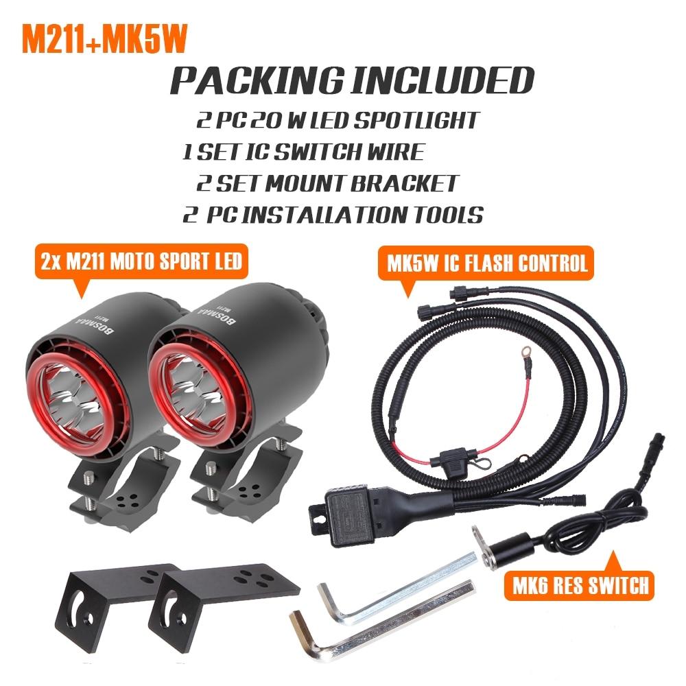 26 M211 MOTOCYCLE LED
