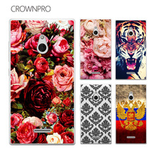 CROWNPRO FOR Nokia XL Case Cover Colorful Painting Phone Back Protector Cover Case FOR Nokia XL Dual SIM RM-1030 / RM-1042