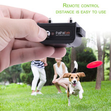 Remote Training Collar for dogs Electric Shock+Vibration+Light+Word OF Command Dog Training Device Pet dog Trainer Waterproof(China)