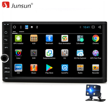 Junsun R179 2 Din Android 7.1 Car Multimedia Play GPS navigation Tap PC Tablet For VW Golf 1990~2015 GPS+Wifi+Radio+Quad Core 8(China)