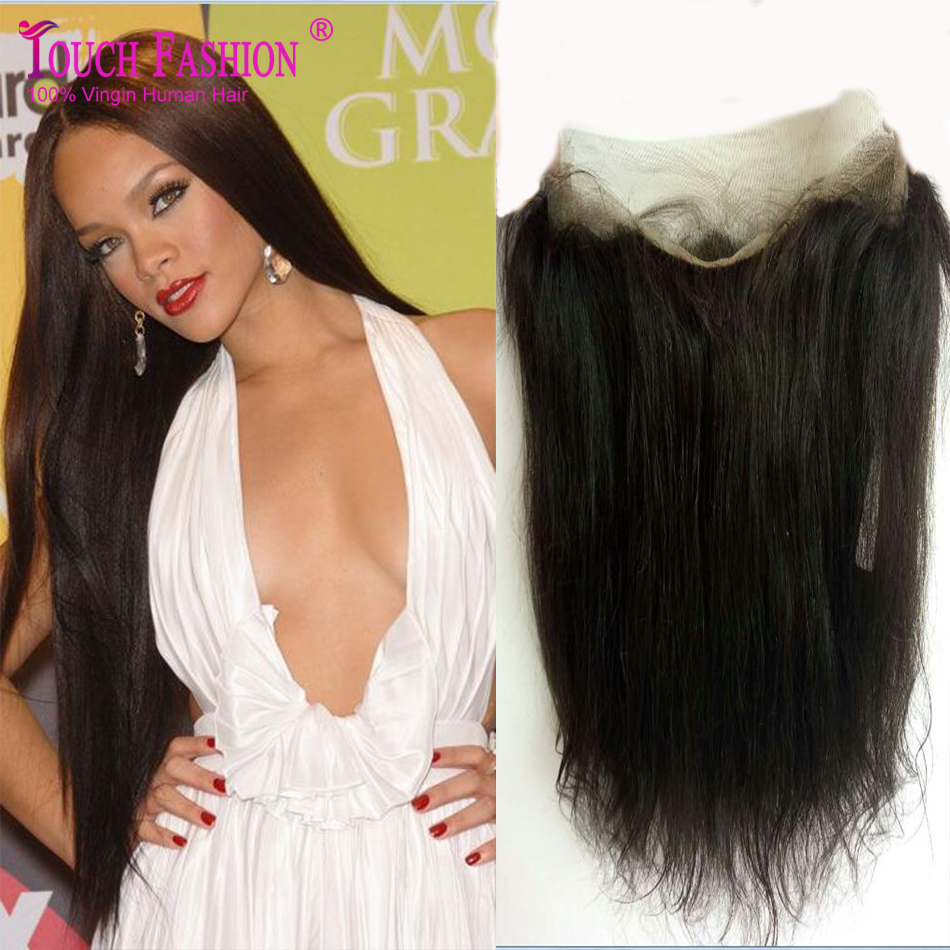360 Lace Band Closures Straight Ear To Ear Lace Frontal Closures With Baby Hair Brazilian Virgin Human Hair Lace Closure<br><br>Aliexpress