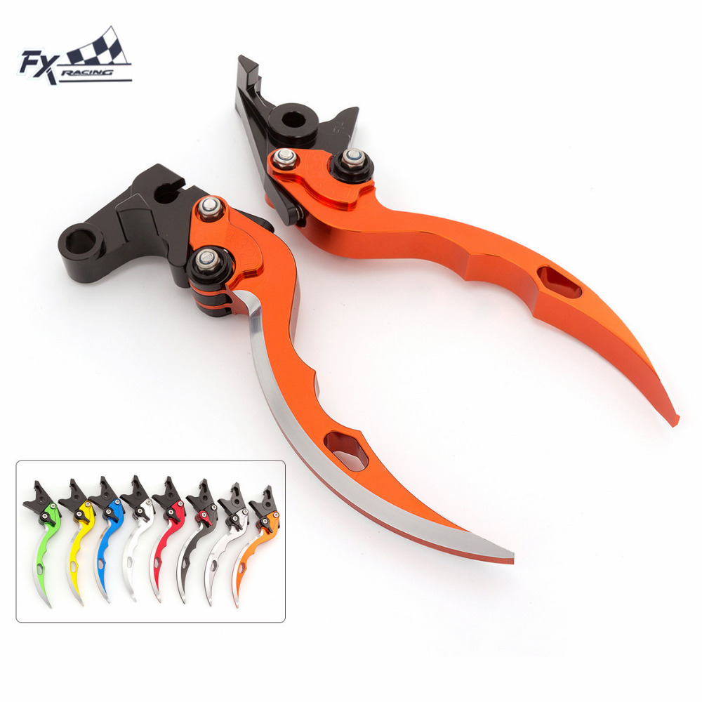 CNC Knife Blade Motorcycle Brake Clutch Levers Adjustable Aluminum Pair For Honda PCX 125 150 PCS125 PCS150 Motorcycle brake<br>