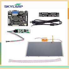 skylarpu 9 inch for AT090TN10 HDMI VGA Digital LCD Driver Board with Touch Screen for Raspberry Pi