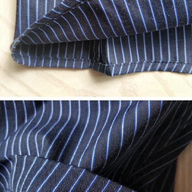 plus size big 10XL men striped shirts cotton office summer short sleeve shirt formal business man shirts 8XL 9XL 52 54 56 150KG