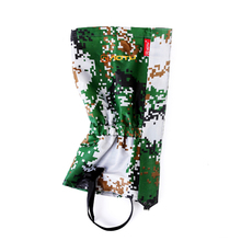 Travel Kits Outdoor Camouflage Water Resistant Shoe Bindings Legging Gaiters 420D polyester Snow ski Camouflage Boots Cover