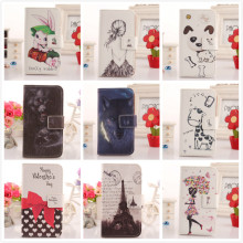 ABCTen Flip PU Leather Book-Style Lovely Cartoon Design Protection Cover Skin Case For BlackBerry Q10
