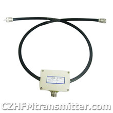 FMUSER 2bay Twor in One Power Splitter / Combiner 300W for Dipole Antenna 88MHz-108Mhz