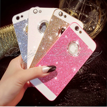 Luxury Bling Cell Phone Case For iPhone 5 SE 5s 6 6s Plus Samsung Galaxy S6 edge Slim Diamond Sparkle Glitter Protective Cover