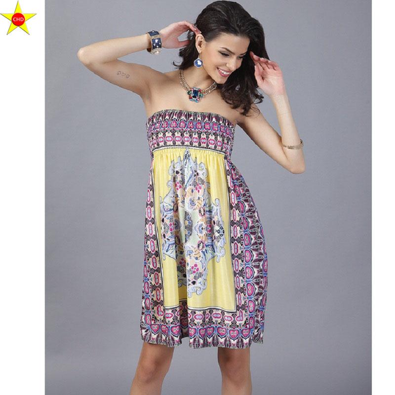 Swaggy HTB1Fm7yRpXXXXXzXXXXq6xXFXXXI Sommerkleid mit V-Schnitt aus Seide - 23 verschiedene Farben
