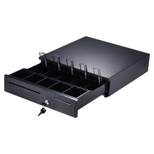 Heavy Duty Electronic Cash Drawer Box Case Storage 5 Bill 5 Coin Trays Check Entry for Epson Star POS Printer Money Register(China)