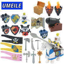 UMEILE Brand Original War Pirate Princess Military Weapon Large Building Blocks Baby Toys Brinquedo Compatible with Duplo