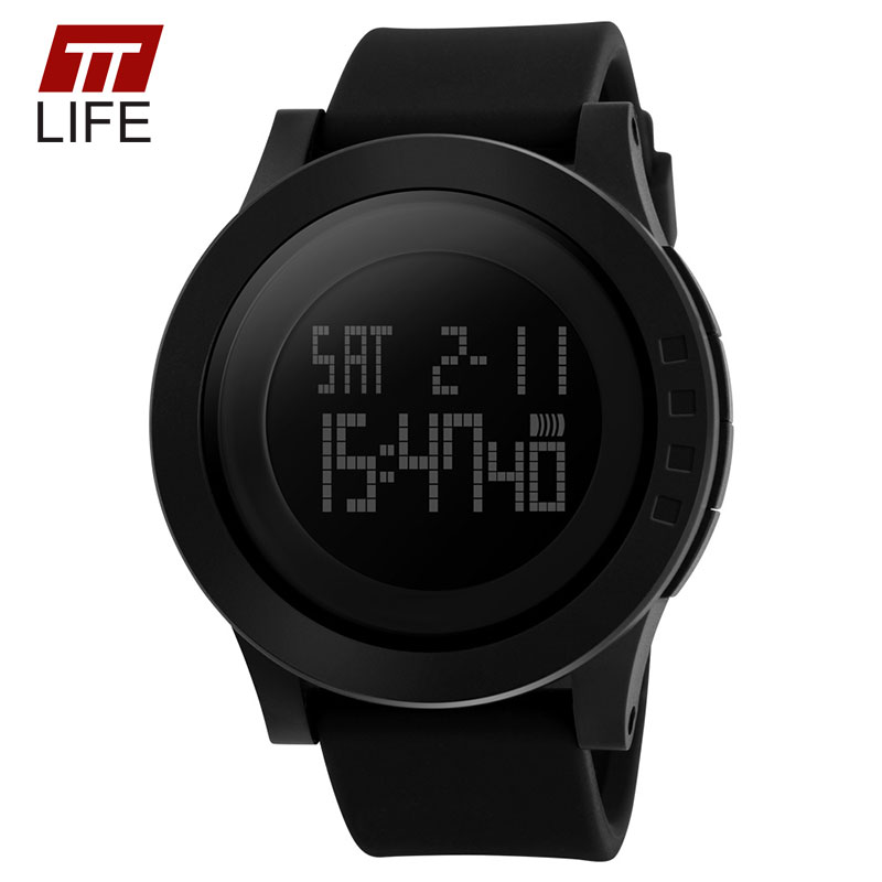 Hot Sell 2016 New Luxury Brand TTLIFE Sports Watches Digital LED Watch Wristwatches Military Fashion Outdoor Sport Watch Relojes<br><br>Aliexpress