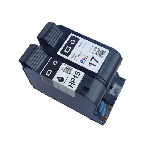 C6615A /C6625A  for HP 15/ 17 Compatible Ink Cartridge for HP DJ 840c/870c/920c/930c/970c/1120c/3820<br><br>Aliexpress