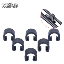 30pcs MEIJUN Bike Disc Brake Cable Sets Pipe Line Deduction Transmission Pipe C type Buckle Snap Clamp