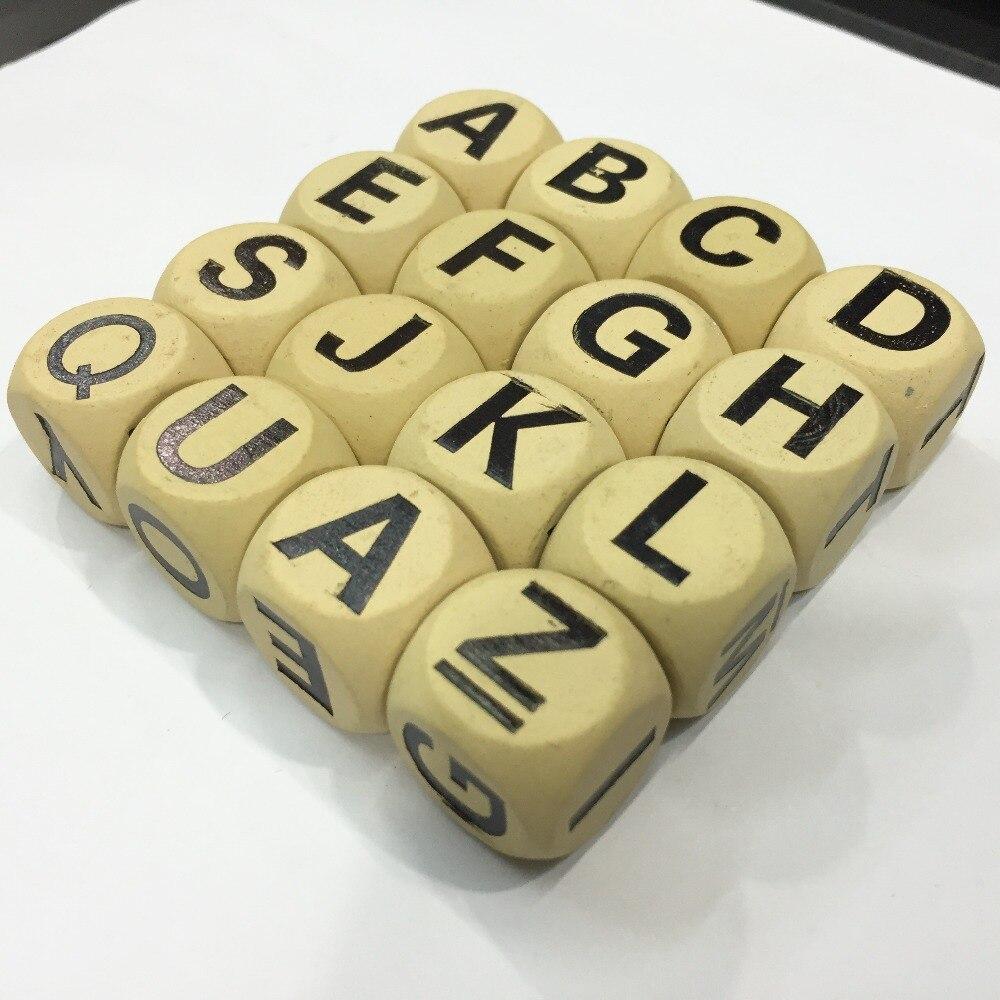 Lettere Cinesi Alfabeto: Acquista All'ingrosso Online Dadi Con Lettere Da Grossisti