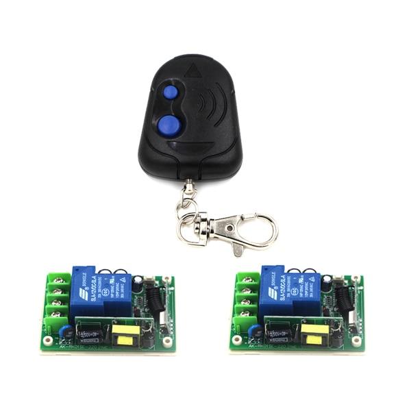 Home Smart Control Wireless 2-Gang Controller AC 85V-250V 30A High Power Lighting Switch RF Smart Switch SKU: 5489<br><br>Aliexpress