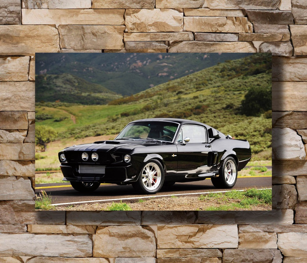 "Classic Ford Muscle Car Poster 24/""x 36/"" HD"