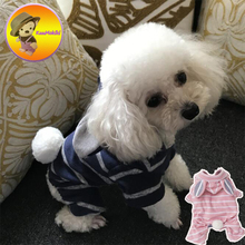New Arrivals S-XXL winter Puppy Dog Clothes Rabbit costume Vestidos Pets dogs rabbit costume pet cat coats pet dog clothing(China)