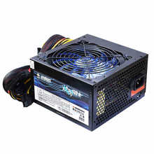 New 500W 12V ATX power supply for computer Desktop host 6pin video card psu mechanical and electrical source eth for pc case(China)