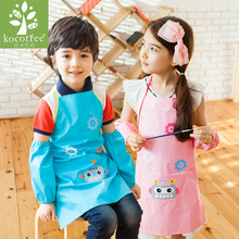 1PCS Popular Cute Kids Children Kitchen Tools Baking Painting Apron Baby Art Cooking Craft Bib Clothing Accessories Household(China)