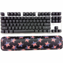 2017 New Design 87key Mechanical Keyboard Wrist Support Comfort Pad Wrist Rest Keyboard Hand Pad Keyboard Pillow for PC Keyboard