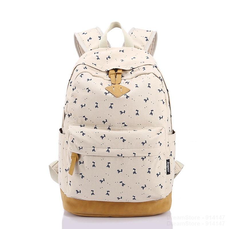 Hot Sale 2016 New Women Backpack Bolsa Feminina Printing Backpack Girls School Backpacks Canvas School Bags for Teenagers<br><br>Aliexpress