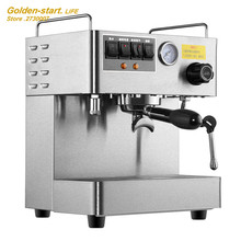 Espresso machine automatic coffee machine commercial office  steam high - pressure dual - pump coffee maker