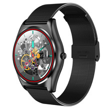 HESTIA N3 Smart Watch With Heart Rate Monitor Bluetooth Smart Watch Wireless Charging Support Call Reminder Fitness black(China)
