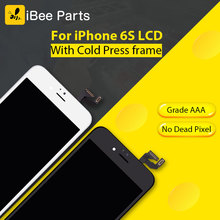 iBee Parts 10PCS Grade AAA Ecran Screen With Good Touch Display Assembly Replacement highscreen For iPhone 6S LCD Pantalla(China)