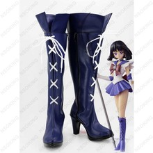 New Sailor Moon cosplay Shoes Sailor Saturn Anime Boots Tomoe Hotaru High Quality Custom-made