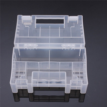 New Large Waterproof Transparent Hard Plastic Protective Case Cover Holder Storage Box Container for 20x AA 14x AAA Battery(China)
