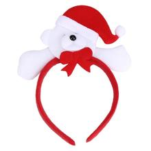 New Designer Christmas Hair Accessory Decoration Home Party Head Hoop Adult or child 2017 Vicky(China)