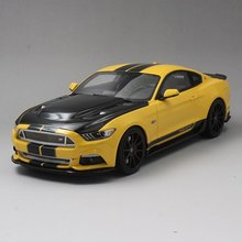 Resin Car Model GT Spirit Ford Mustang Shelby GT (Yellow/Black) 1:18 + GIFT!!!!