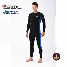 SLINX Lycra Scuba Diving Suit Snorkeling Swimming Waterskiing Beach Jellyfish Swimwear Wetsuit UV Protection Rash Guard(China)