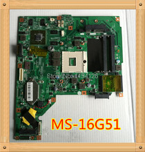 Laptop Motherboard For MSI MS-16G51 GE620DX GE620 Mainboard Intel DDR3100% test ok