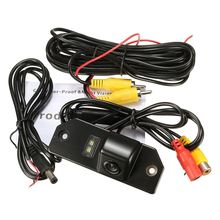 HD Waterproof Reversing Rear View License Plate Camera For Ford /Focus /Sedan