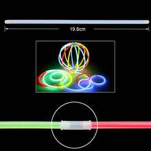 50pcs Glow Sticks Bracelets Neon Light Glowing Party Favors Rally Raves Evening party Camping Rescue Signal Concert KTV Decor