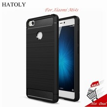 HATOLY Case Xiaomi Mi4s Cover Shockproof Soft Rubber & TPU Case For Xiaomi Mi4s Case For Mi 4s Mi4s Mobile Phone Bag Fundas(China)
