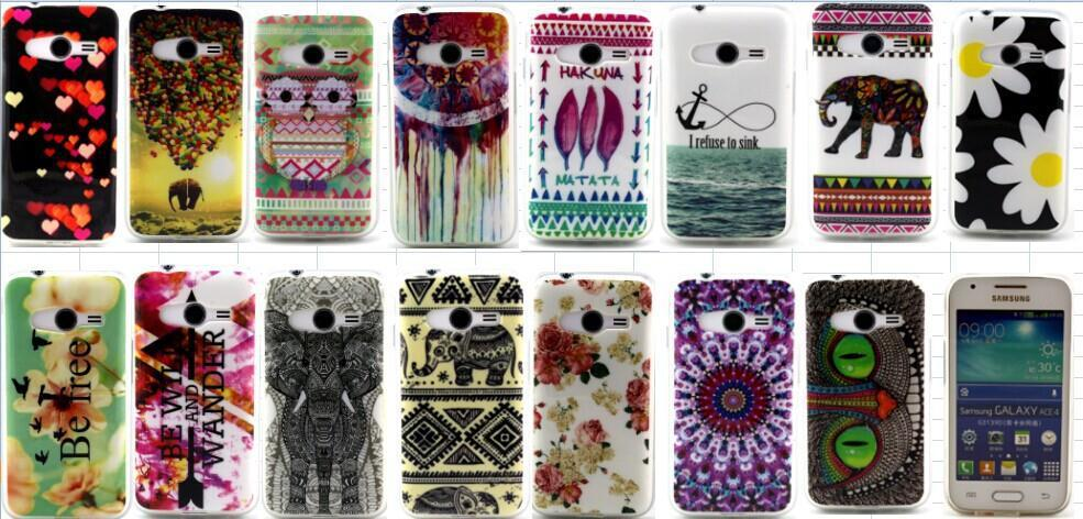 Owl elephant Swallow Pritned Soft TPU font b Case b font Cover for font b Samsung
