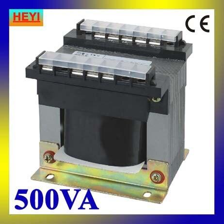 380V 220V input control transformer 6V 12V 24V 36V output BK-500VA small transformer<br>